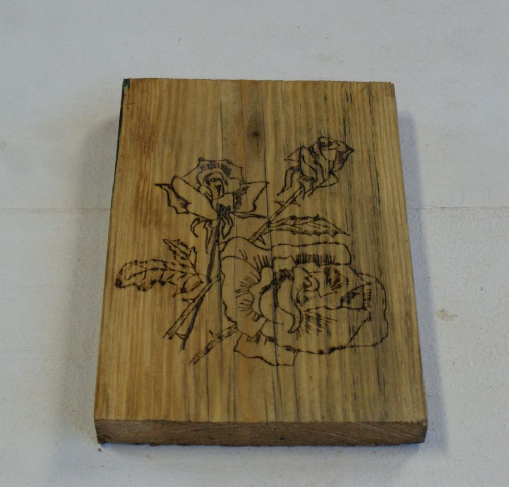 Wood Pyrography pictures